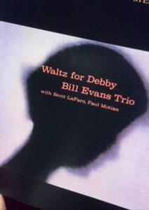 ビル・エヴァンス「ワルツ・フォー・デビー」のCDジャケット