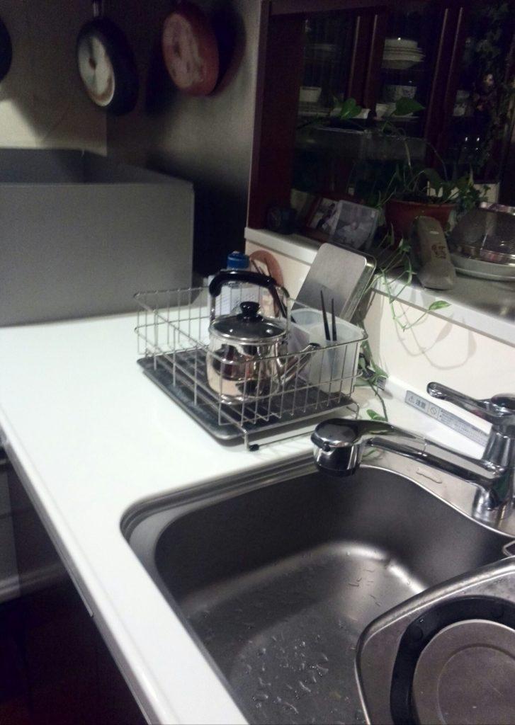 我が家の台所