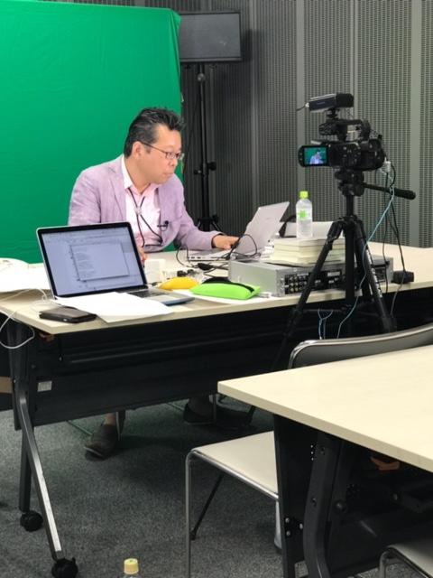 樺沢塾動画撮影会での樺沢紫苑先生