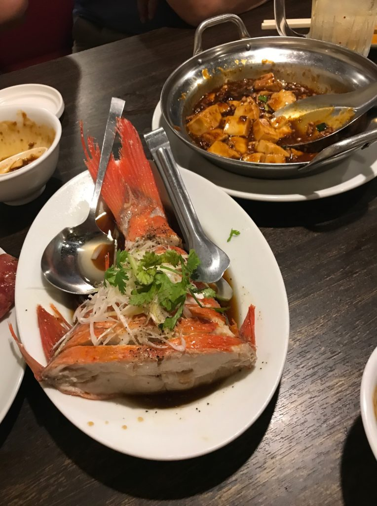 樺沢先生ご招待の台湾料理各皿②
