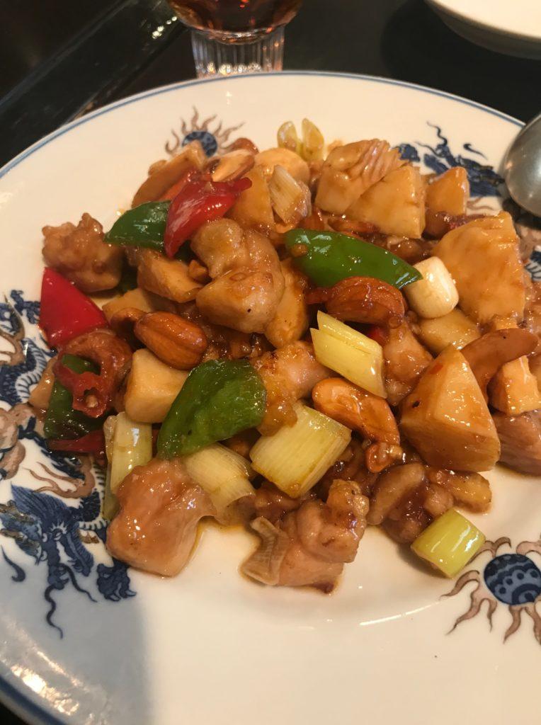 青葉川菜館_鶏肉とカシューナッツの辛子炒め