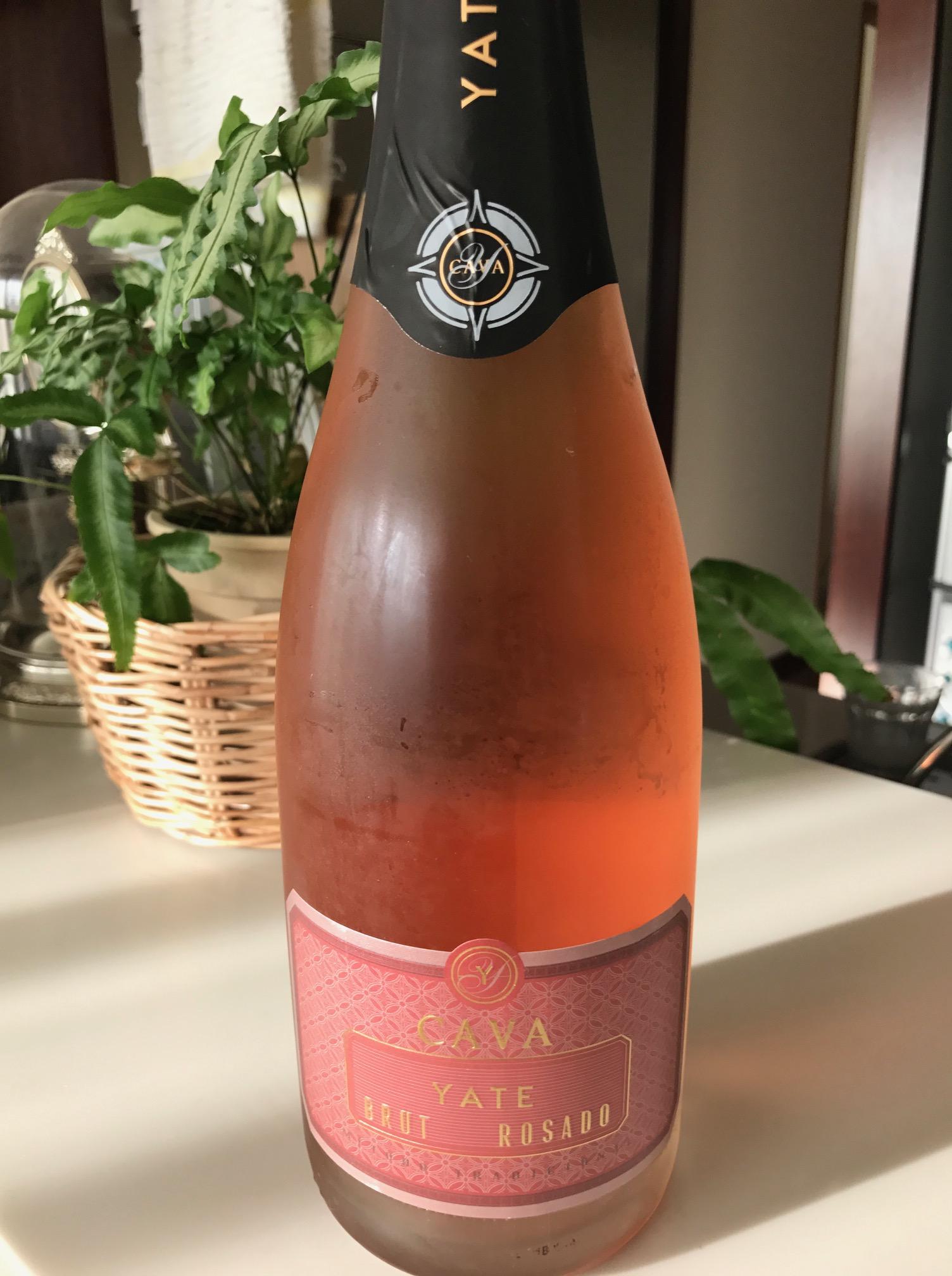 スペインのスパークリングワイン、Cavaのロゼ