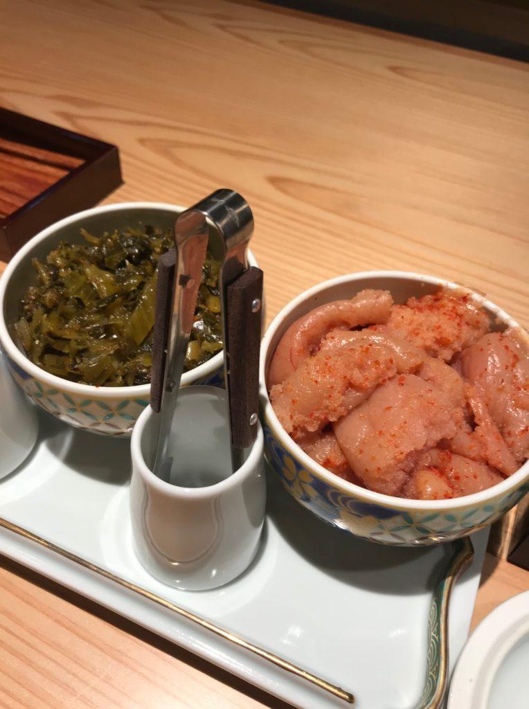 レストラン・やまやの高菜と明太子
