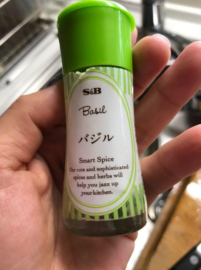 バジルの調味料