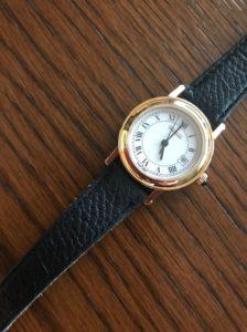 電池交換した腕時計