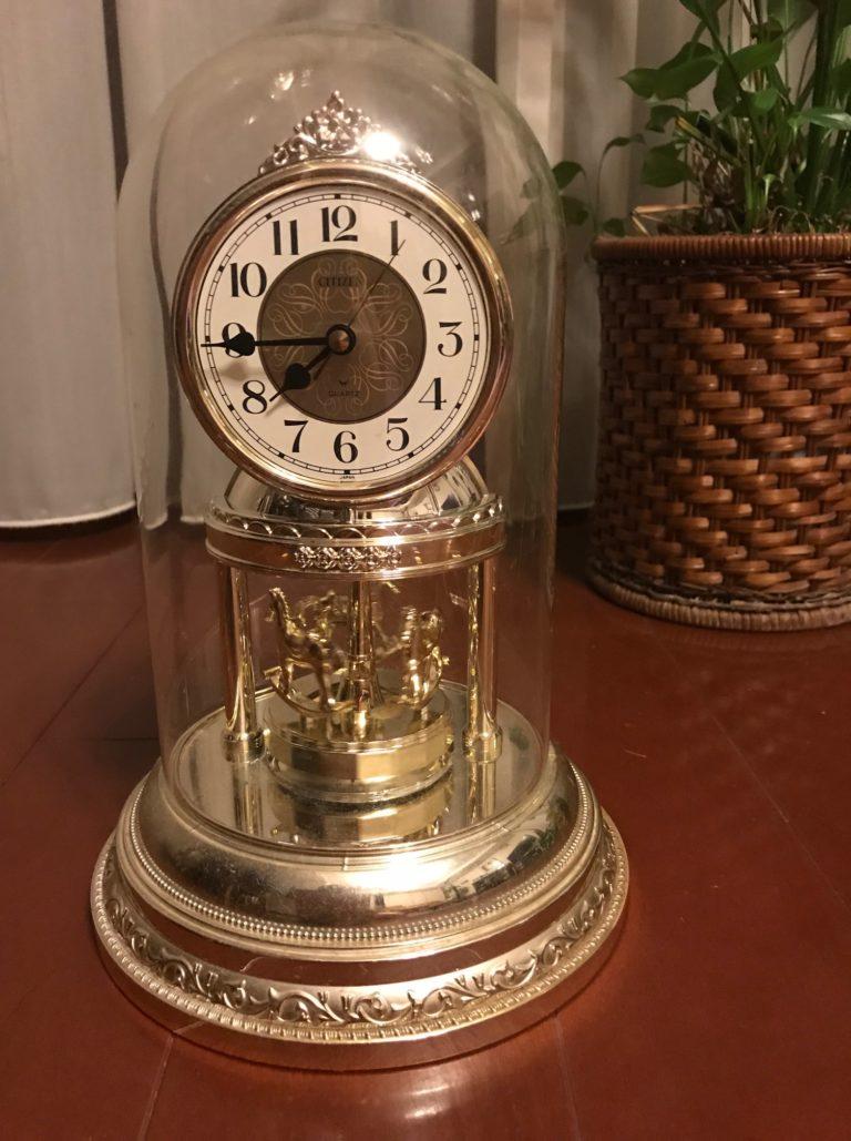 我が家の置時計