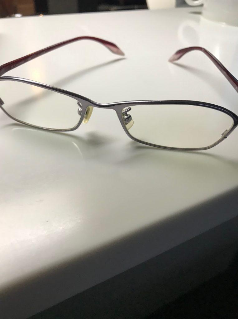 ワタシの眼鏡