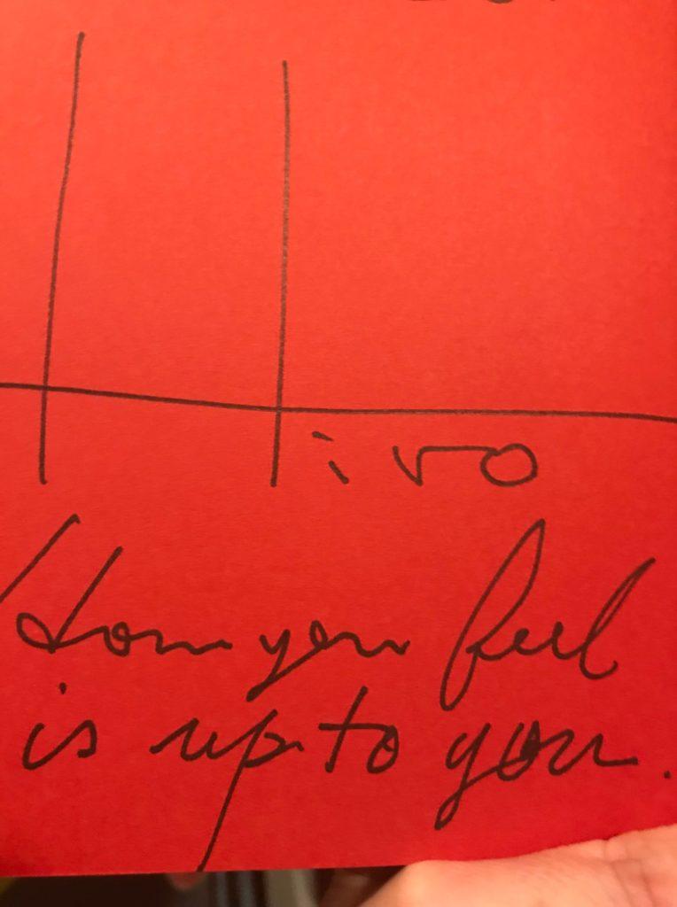 小倉広さんにサインしていただいた本の裏表紙