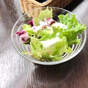 11月20日のランチで食べたサラダ