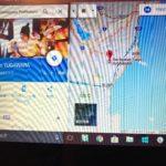 アリゾナのホストファミリーが宿泊予定の湯河原の旅館(Googleマップ)